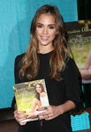 Jessica Alba promoting Honest Life book