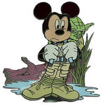Mickey as Luke Skywalker