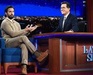 Milo Ventimiglia visits Stephen Colbert