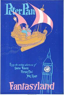 Peter Pan Flight poster
