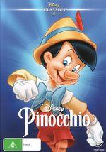 Pinocchio DVD Classics AU