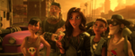Shank und ihre Gang mit einem Bild von Ralph
