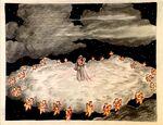 Snow White & Prince in Stars