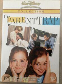 The Parent Trap Remake 2003 AUS DVD