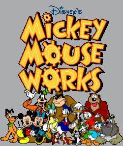Mickey Mouse Works Μεταγλτισμένο