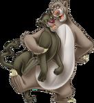 Baloo and Bagheera