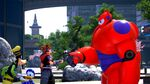 Baymax's fist bump in KH3