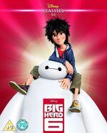 Big Hero 6 Blu-ray UK slip cover