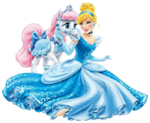 Cinderella with palace pet 2