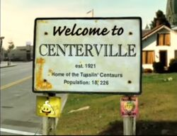 Disney's One Saturday Morning - Centerville - Title Logo