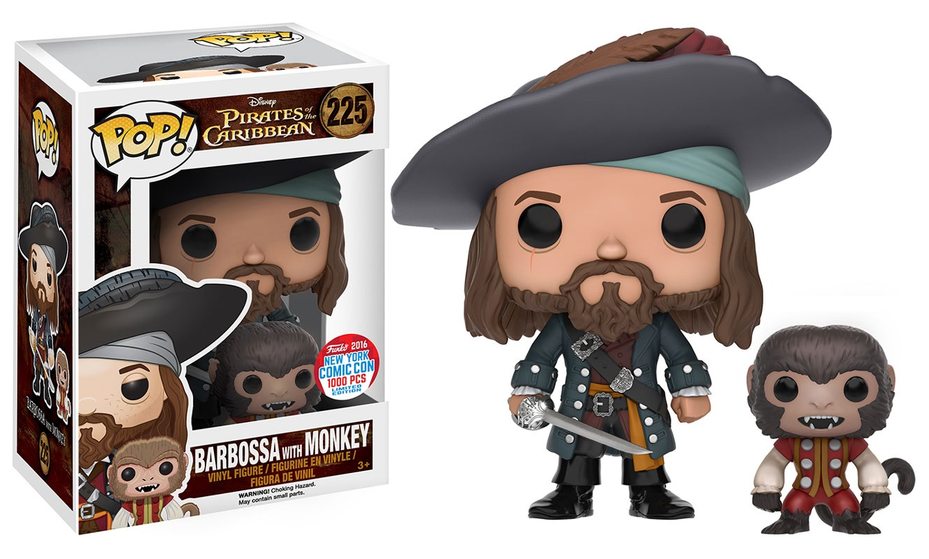 image funko pop vinyl pirates of the caribbean barbossa with