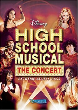 HSM The Concert Extreme Access Pass DVD