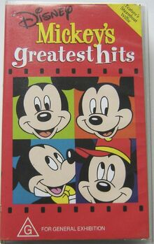 Mickey's Greatest Hits 1997 AUS VHS