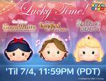Princess Lucky Time Tsum Tsum Game