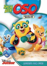 Special Agent OSO The Spy Who Helped Me DVD