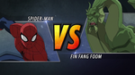 Spider-Man vs Fin Fang Foom USM 01