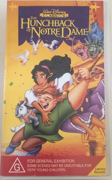 The Hunchback of Notre Dame 1997 AUS VHS