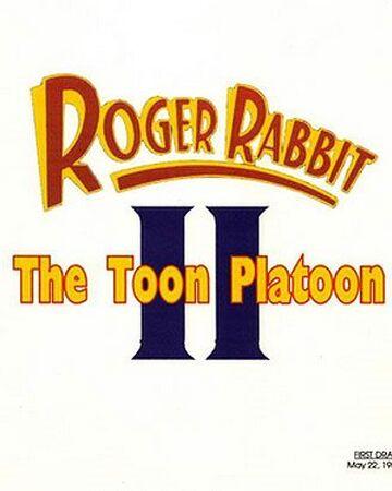 Roger Rabbit Ii The Toon Platoon Disney Wiki Fandom