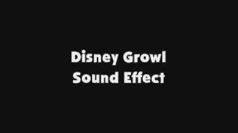 Disney Growl SFX
