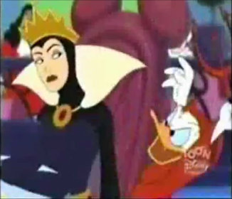 File:Donald tries to scare the Queen.png