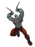 Drax Animated Render 01
