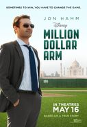 Million Dollar Arm Teaser Poster