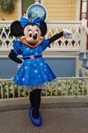 Minnie in disneyland paris 25th anniversary