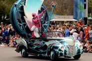 Power Rangers Car