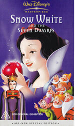 Snow White and the Seven Dwarfs 2001 AUS VHS
