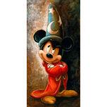 Sorcerer Mickey Mouse Giclée by Darren Wilson
