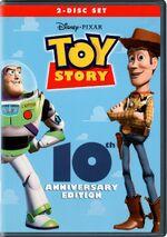 ToyStory 10thAnniversaryEdition DVD