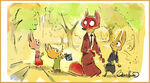 Zootopia Nick with Bunny Kids concept