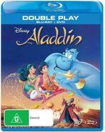 Aladdin 2013 AUS Blu Ray and DVD