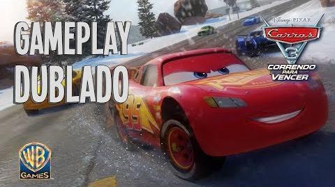 CARROS 3 CORRENDO PARA VENCER - Trailer de Gameplay (Dublado)
