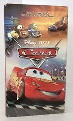 Cars VHS