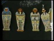 Goofy sarcophagus