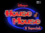 House of Mouse Italian Heading