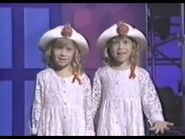 "Mary-Kate & Ashley Olsen in 1993 ""For Our Children"" AIDS Awareness Concert Special"