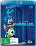 Monsters Inc 2010 AUS Blu Ray