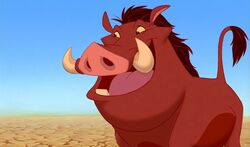 Pumbaa in the first film