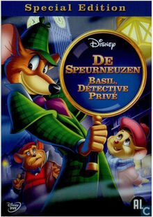 The Great Mouse Detective 2010 Dutch DVD