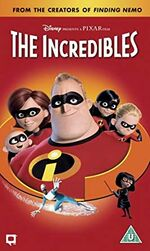 The Incredibles (2005 UK VHS)