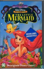 The Little Mermaid 1998 Dutch VHS English Version