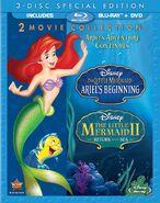 The Little Mermaid II & Ariel's Beginningbluray