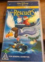 The Rescuers 2001 AUS VHS Second