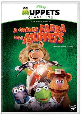 A Grande Farra dos Muppets - Pôster Nacional