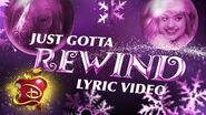 Audrey's Christmas Rewind 🎄 Lyric Video Descendants 3
