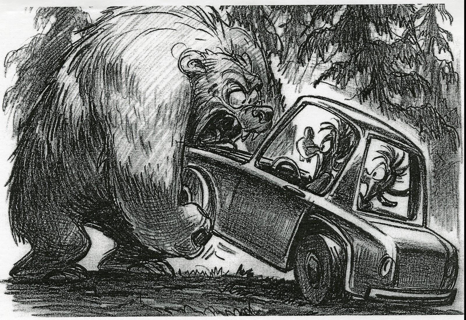 Disneyu0027s A Goofy Movie   Storyboard By Andy Gaskill   11