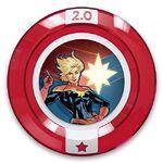 Disney Infinity Captain Marvel Team-Up Disc