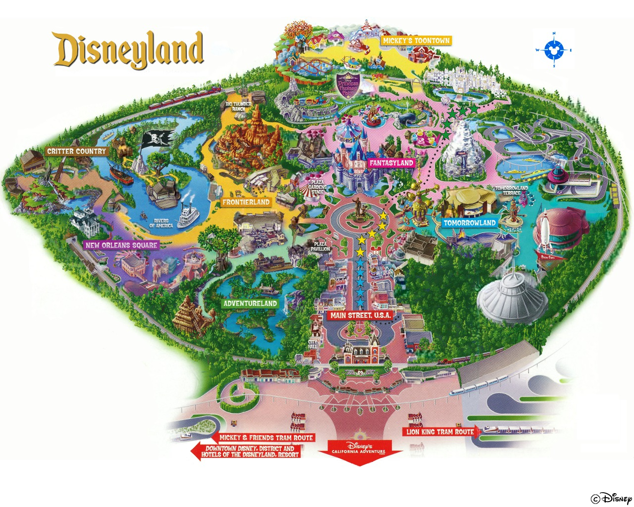 disneyland paris map 2018 pdf